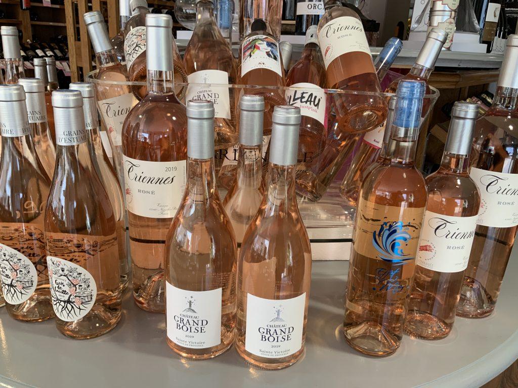 Caviste vannes saint-ave vin rose