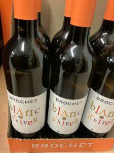 Blanc d'hiver vin doux vannes
